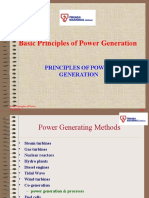 Principles of Power Generation