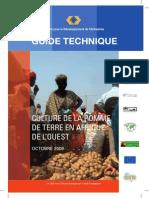 Culture de la Pomme de Terre en Afrique de l'Ouest