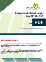 5.-Responsabilidad Legal Ley N°16.744