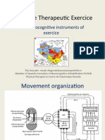 Cognitive Therapeutic Exercice