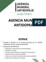 AGENCIA MUNDIAL ANTIDOPAJE.pptx