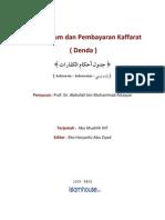 Tabel Hukum dan Pembayaran Kaffarat (Denda)