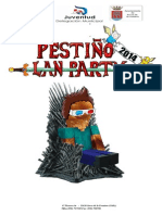 Pestiño Party 2014 Programa