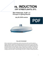 LED vs Induction Streetlights