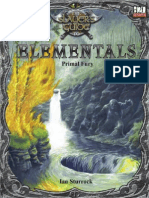 The Slayer's Guide to Elementals