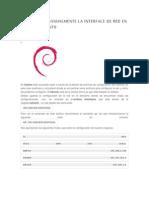 Configurar Manualmente La Interface de Red en Debian o Ubuntu