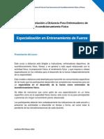 1 Presentación Curso de Capacitación a Distancia Para Entrenadores de Acondicionamiento Físico