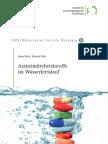 Arzneimittelwirkstoffe  im Wasserkreislauf