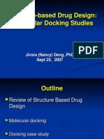 USC NancyDeng MolecularDockingStudies
