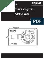Cámara digital VPC-E760