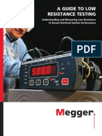 Megger Guide to Low Resistance