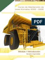 M1_Introduccion curso camion 930e-4 Komatsu