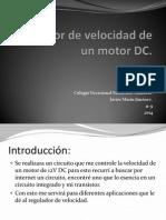 Regulador de Velocidad de Un Motor DC