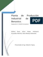 Produccion de Acido Benozico