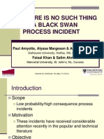 1100 - Amyotte - No Such Thing as a Black Swan Process Incident