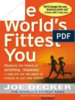 The World's Fittest You -Harness the Power of Interval Traning, Fitness in Just One Month -Mantesh
