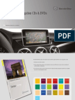 Mercedes Overview of navigation CDs & DVDs