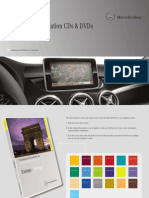 Mercedes Overview of navigation CDs & DVDs