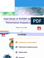 Case Study of WCDMA Optimization