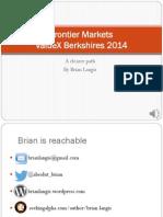 Valuex Frontier Markets Presentation by Brian Langis