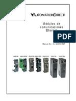 Módulos de comunicaciones Ethernet
