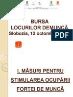 Prezentare Bursa LM Slobozia