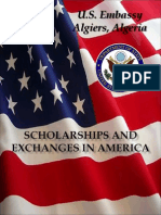 Scholarships and Exchanges in the United States Algiers