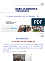 Investigacion de Accidentes e Incidentes de Trabajo Octubre 2014