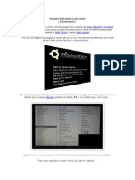 Pasos Para Instalar Linux(Wilder)