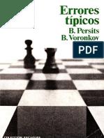 59- Errores Típicos. — Persits y Voronkov