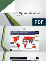 LTE Optimization Tool Presentation