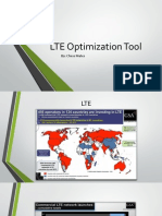 LTE Optimization Tool Presentation