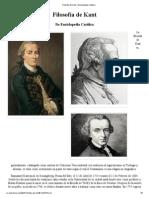 Filosofía de Kant - Enciclopedia Católica