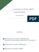Identificacion y Especificacion Arima