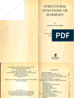 Arnold Schoenberg - Structural Functions of Harmony (1954)