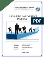 Las 6r's de La Logistica Inversa