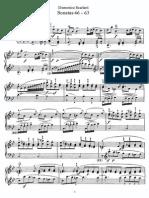 Scarlatti - Sonatas No.046-063
