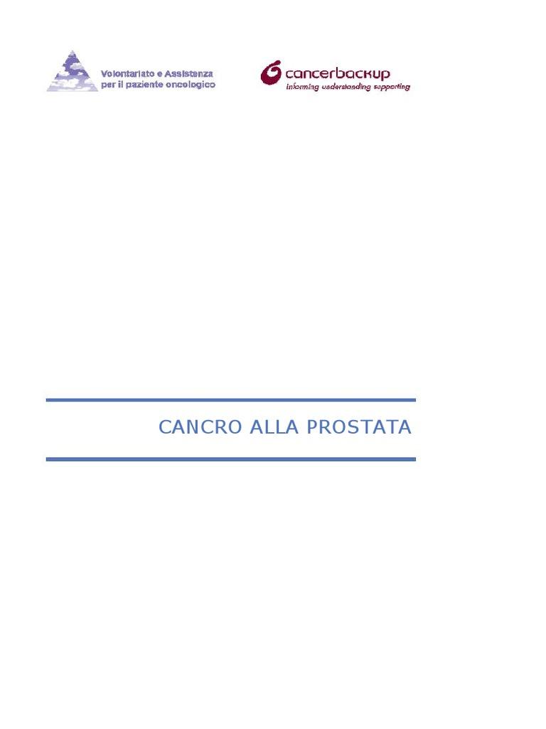 tumore prostata lento el