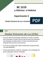 Aula Experimento 3 LEDs