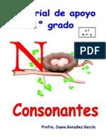 Material de Apoyo Consonantes 1 s,l, m,t,p