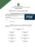 Regulamento de Certificacao Profissional