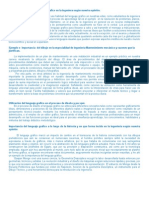 Lenguaje Grafico y La Ingenieria