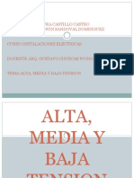 Alta, Media y Baja Tension