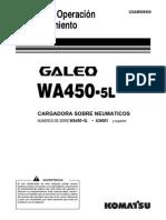 Manual de Operacion y Mantenimiento Wa450-5l