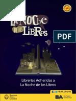 Librerías adheridas a La Noche de los Libros