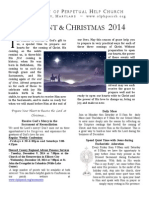 Advent Booklet 2014