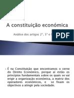 A constituição económica