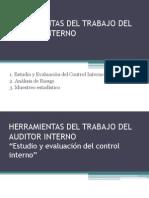 Herramientas de trabajo del auditor interno