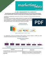 MKT Data Perfil Del Adolescente 2012