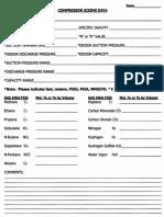 Ajax Sizing Data Worksheet